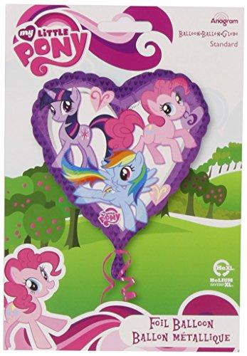Amscan International My Little Pony - Globo (45 cm), diseño de corazón