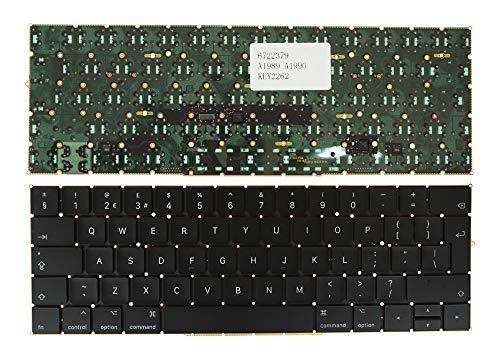 Keyboards4Laptops Reino Unido Retroiluminada Negro Teclado de Repuesto para Ordenador portátil Compatible...