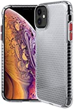 KINGCOM - Fitted Cases - Clear TPU Case for for Samsung Galaxy S20 Ultra Note 20 10+ Plus 5G Honeycomb Crystal Slim Fit Shell Bumper Protection Back Cover (Transparent forGalaxy Note20 Pro)