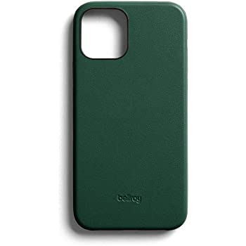 Bellroy Phone Case for iPhone 12 / iPhone 12 Pro (Leather iPhone Cover, Soft Microfiber Lining) - Racing Green
