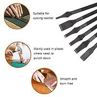 スロットパンチ、革を切るための耐久性のあるDIYカッター革切削工具