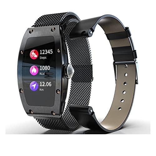 N \ A Relojes Inteligentes para Hombres, Reloj con Monitor de sueño, Relojes con Pantalla táctil de 1,14', podómetro Resistente al Agua IP67, Reloj Inteligente para teléfonos Android y teléfonos iOS
