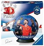 Ravensburger- Puzzle 3D Rond 72 pièces-Fédération Française de Football, 4005556111701, Multicolore, 13 cm