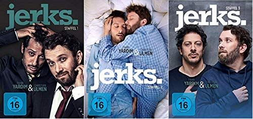 Jerks. Staffel 1-3 (1+2+3, 1 bis 3) [DVD Set]