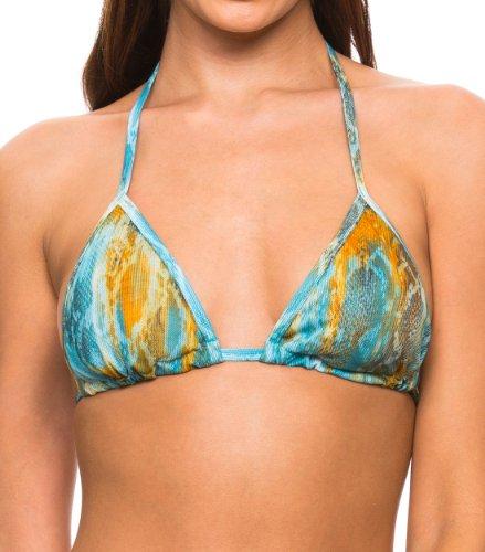 Kiniki Brand Neu Tan Thru Vesper Sonnendurchlässiges Bikini Oberteil (42/44)