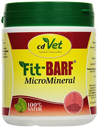 cdVet Naturprodukte Fit-BARF MicroMineral 500 g - Hund&Katze - Mineralien - Spurelemente - Vitamine - Immunsystem - Fellwechsel - Knochen+Gelenke - Wachstum - Stoffwechsel - Rohfütterung - BARFEN -