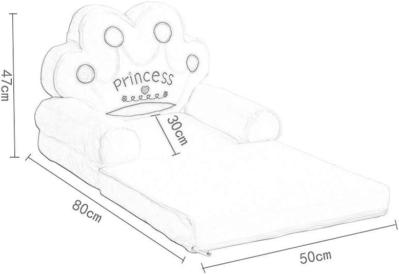 HYL Footstools Ottomans Repose-pieds Canapé Tabouret Enfant Pliant Lazy Siège En Tissu Petit Canapé Chaise Amovible Et Lavable (Color : #3) #8