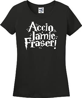 Utopia Sport Accio Jamie Fraser Funny Ladies T-Shirt (S-3X)