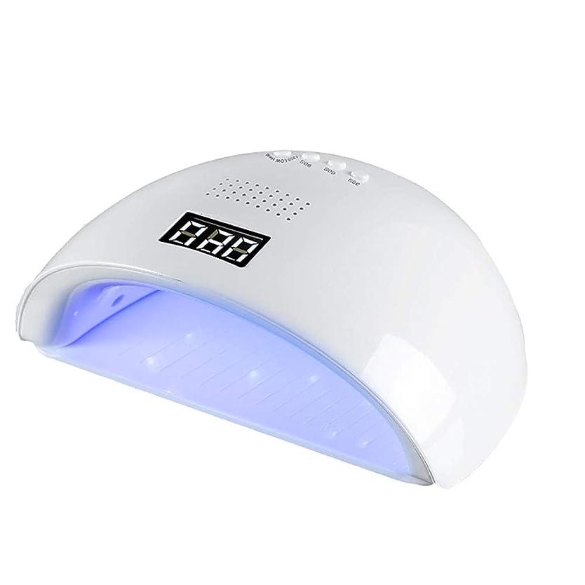 麻痺させる水族館ミント釘のドライヤー - 自動赤外線センサー、二重光源のLEDランプのゲルのドライヤーのマニキュアが付いている紫外線携帯用LEDの釘ランプ