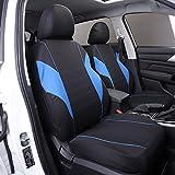 Protector de asiento de coche, juego de fundas de asiento de coche, accesorios interiores, 11 piezas, para i10 i20 iX20 i30 ioniq Kona Tucson