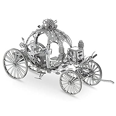 Disney Parks Cinderella Carriage Metal Earth 3D Model Kit