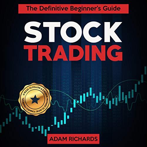 Page de couverture de Stock Trading: The Definitive Beginner's Guide