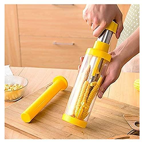 MBMB Pelador de maíz casero, Herramienta de extracción de maíz, Cuchillo de maíz de Acero Inoxidable, Utilizado para pelar mazorcas de maíz Pelador de maíz de Acero Inoxidable