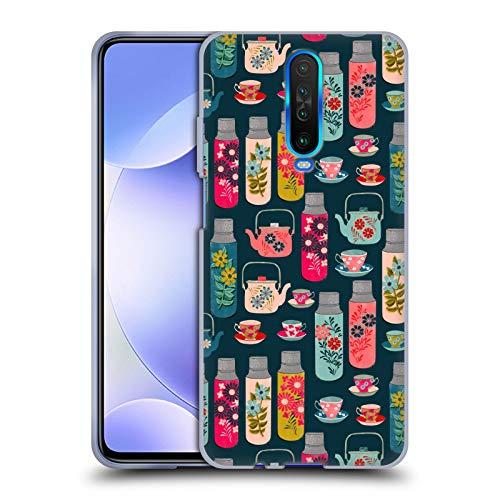 Officiële Andrea Lauren Design Thermoskan Voedsel Patroon Soft Gel Case Compatibel voor Xiaomi Redmi K30 / 5G