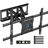 Pipishell Full Motion 37-70 Inch TV Wall Mount Bracket Dual Articulating Arms Swivels Tilts Rotation