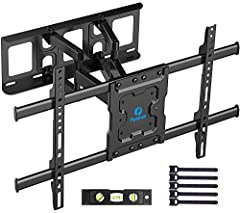 "✅ ULTRA STRONG TV WALL BRACKET - Our TV wall mount is constructed from high quality steel materials and fits most 37-70"" TVs weighing up to 132lbs like Samsung, Sony, Panasonic, Thomson, Toshiba, Sharp, LG, Philips, JVC etc. Solid and sturdy TV brack..."