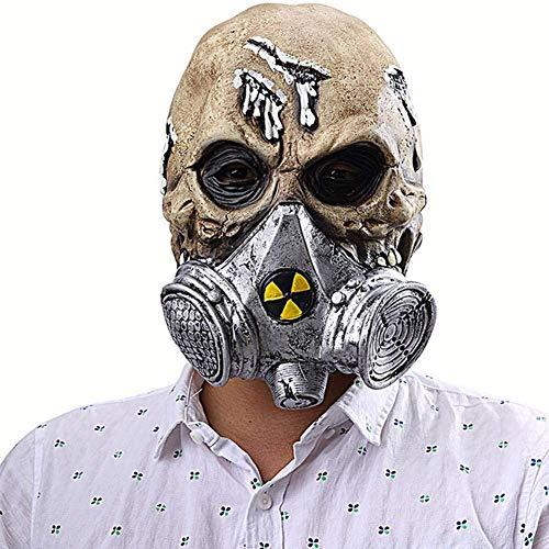 Pkfinrd Halloween Horror Biochemisch gasmasker masker afdekking latexmasker