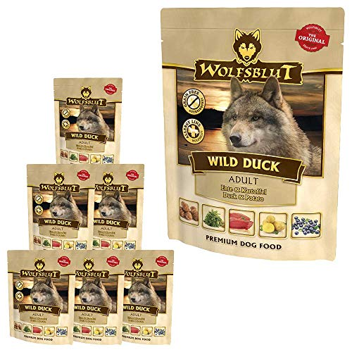 Wolfsblut Wild Duck Nassfutter Pouch 7x300 g