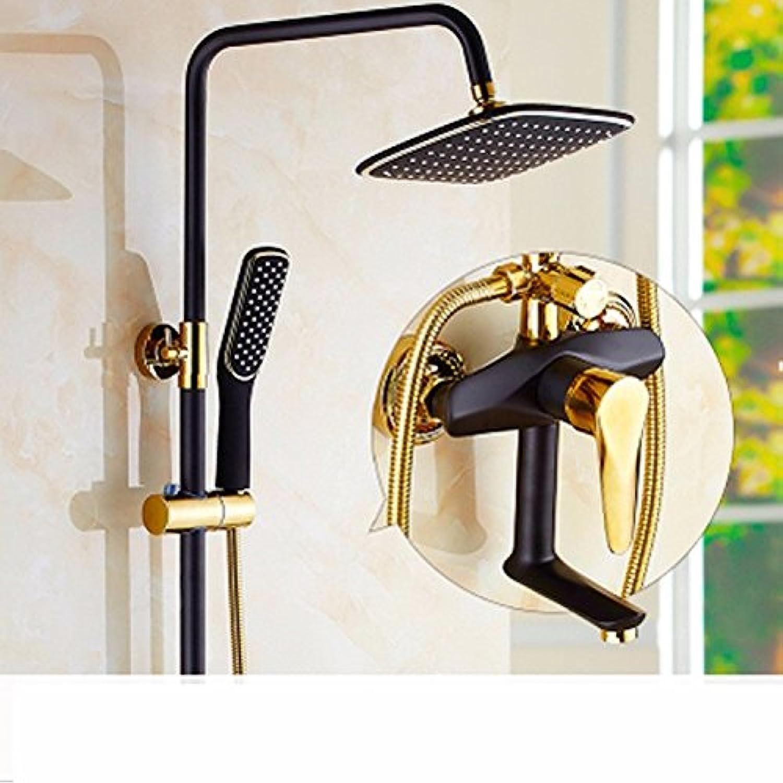 TS-nslixuan LGH voll Kupfer dusche Dusche, hochwertige Dusche, Dusche mit heiem und kaltem Wasser, Dusche top Sprinkler, Modell 7