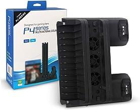 foshan Cgration Per PS4 Pro/Slim Console di Gioco Verticale Basamento Ventola di Raffreddamento Dual Gaming Controller Ric...
