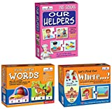 Product 1: Letter Recognition Product 1: Letter Sounds Product 1: Spelling Product 2: Visual Discrimination Product 2: Early Learning Concepts Product 2: Improve ability to Ask and Answer Questions Product 3: Visual Discrimination Product 3: Concentr...