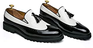 Hommes Cuir Noir Chaussures Habillée Mode Mocassins Business Chaussures/Loafers Casual Pour Homme Chaussures Oxford Derby ...