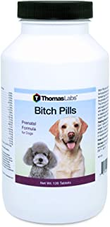 Thomas Labs Bitch Pills - Prenatal Supplement for Dogs - (120 Tablets)