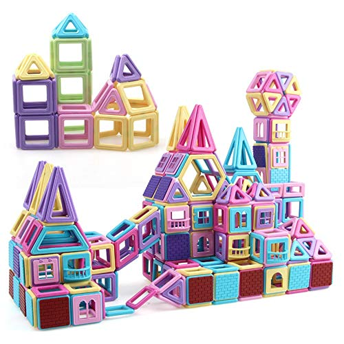 180 Pieces Of Pure Magnetic Building Blocks, over tal van instelbare Magnetic Puzzle Puzzle Children's Educatief speelgoed