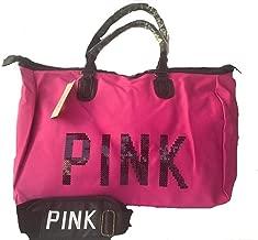 فكتوريا سيكرت حقيبة للنساء-وردي فاقع - حقائب الكتف