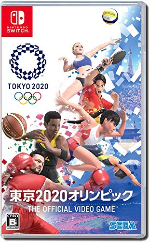 Sega Olympic Games Tokyo 2020 For NINTENDO SWITCH REGION FREE JAPANESE VERSION