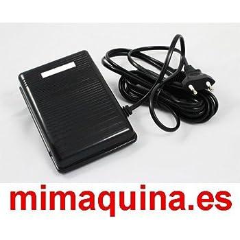 PEDAL ELECTRICO PARA MAQUINA DE COSER LERVIA, VICTORIA, AEG, etc ...