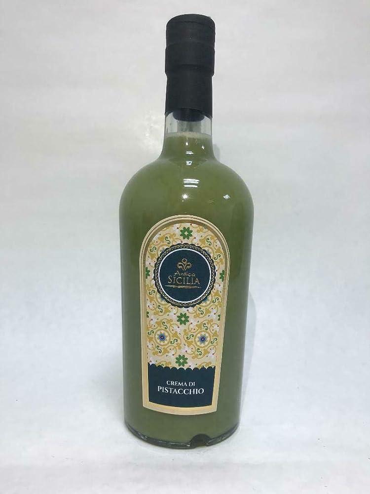 Antica siclia, crema di liquore al pistacchio, 50 cl