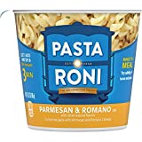 Quaker Roni Cups Mix 2.32 oz Pack of Cups, Parmesan & Romano Cheese Pasta, 27.84 Ounce, (Pack of 12)