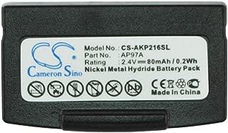 Ghpter-camera Bater/ías de Repuesto para la c/ámara 750mAh 2.78Wh 3.7V bater/ía de la c/ámara para Minox DCC 5.0 DCC 5.1 Color : Negro, tama/ño : 46.20 x 34.00 x 5.60mm