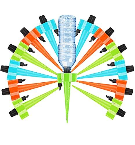LOVEXIU Automatische Bewässerung Set 12 Stück,Automatische Bewässerungssystem Topfpflanzen Für Balkon,Garten, Pflanzen, Zimmerpflanzen, gartenpflanzen UrlaubsbewäSserung, Tropfbewässerung,Einstellbar