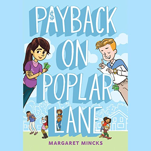 Payback on Poplar Lane audiobook cover art