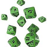 Q Workshop Legend of Five Rings Mantis Clan RPG Dice Set 10 x D10 RPG