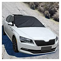 フロントガラスの冬の車のフロントウィンドウのための強い磁石の車の雪のブロックカバーの銀の布の磁気スノーアイスシールド