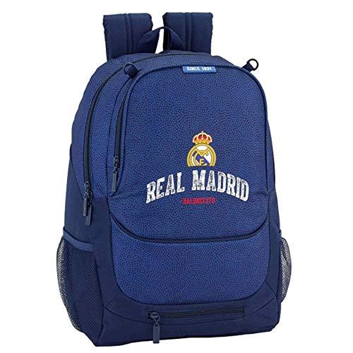Real Madrid (La Liga) - Mochila con Pelota, diseño del Escudo del Real Madrid