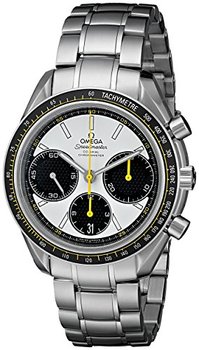 Omega Men's 32630405004001 Speed Master Analog Display Automatic Self Wind Silver Watch