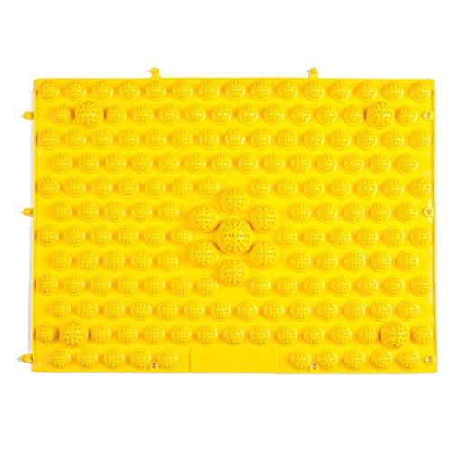Leeba Fußmassage-Matte, Kieselstein-Matte, 29 x 39 cm, Akupressur-Teppich, Reflexzonen-Werkzeug, simuliert die Durchblutung