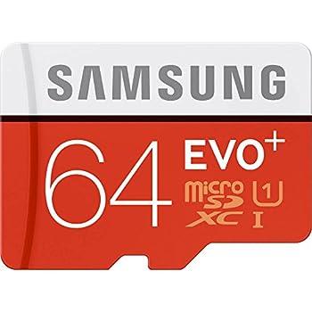 Samsung 64GB Evo Plus Class 10 Micro SDXC with Adapter 80MB/S  MB-MC64DA/AM