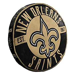 Northwest NFL New Orleans Saints Cloud to Go StylePillow, Team Colors, One Size