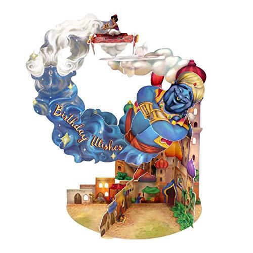 Genie Pendulum Card Tarjeta De Felicitación De Cumpleaños Para Niños Diseño 3d De Santoro