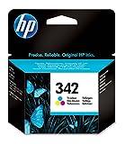 HP 342 C9361EE pack de 1, cartouche d'encre d'origine, imprimantes HP DeskJet, HP OfficeJet, HP...