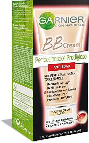 Garnier Skin Active BB Cream Perfeccionador Prodigioso AntiEdad Tono Light  Total 50 ml