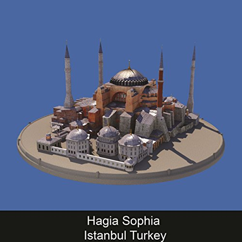 Hagia Sophia Istanbul Turkey audiobook cover art