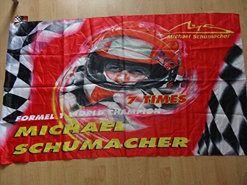 Michael Schumacher Ferrari Fahne Racing 100x140 cm