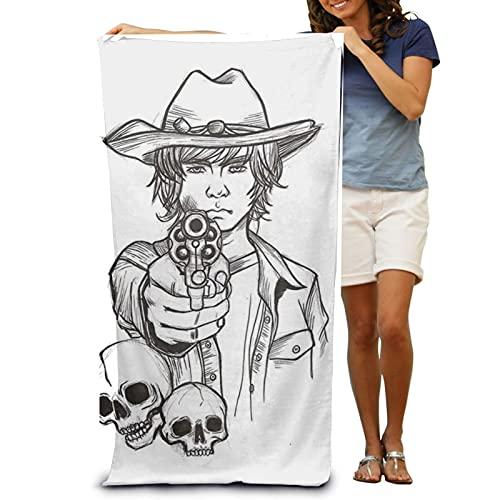 The Walking Dead 1 Toallas de playa, toallas de baño, suaves y agradables al tacto, toallas de viaje para acampar