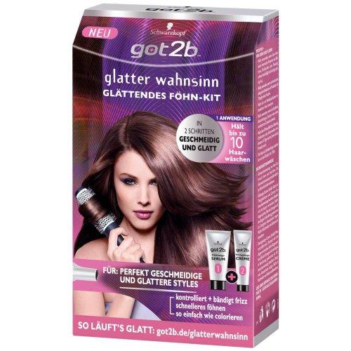 Got2b glatter wahnsinn Glättungs-Kit Föhn-Kit / 6er Packung